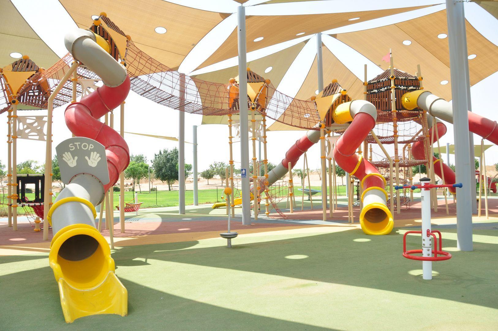 מתקני משחקים | פרויקט פארק נחל באר שבע | מתקן טיפוס ומגלשות אתגרי | מתקני שעשועים