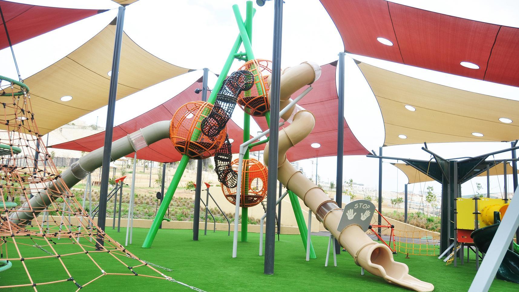 מתקני משחקים | פארק רמות באר שבע | מתקן אקסטרים | מתקני שעשועים